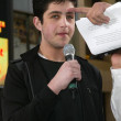 Stock Photo: Josh Peck on red carpet at premiere of Ice Age Meltdown. Graumans Chinese Theatre, Hollywood, CA. 03-19-06