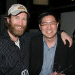 Los Angeles Premiere of Mad Cowgirl.Christo Dimassis and Gregory Hatanaka — Stock Photo