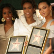 Stock Photo: Destinys Child at the Ceremony Honoring them with the 2305th Star on the Hollywood Walk of fame. Hollywood Boulevard, Hollywood, CA. 03-28-06