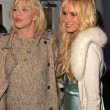Courtney Love and Kimberly Stewart — Stock Photo