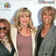 Lil Kim with Daphna Ziman and Gail Mitchell — Stock Photo