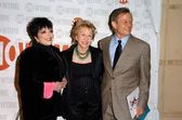 Liza Minnelli with Michael York and his wife Patricia at the west coast premiere of Showtimes Liza With A Z. MGM Screening Room, Century City, CA. 03-21-06 — Stock Photo