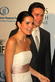Angie Harmon and Jason Sehorn at the Unforgettable Evening Benefit for EIFs Woman Cancer Research Fund. Regent Beverly Wilshire Hotel, Beverly Hills, CA. 03-01-06 — Stock Photo