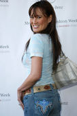 Tia Carrere arriving at Mercedes-Benz Fall 2006 L.A. Fashion Week Day 3. Smashbox, Culver City, CA. 03-21-06 — 图库照片