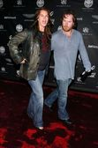 Brooke Shields and Chris Henchy at Rock and Republics Fall 2006 Fashion Exhibition. Sony Studios, Culver City, CA. 03-20-06 — Stock Photo