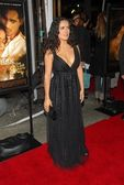 Salma Hayek at the Los Angeles Premiere of Ask The Dust. Egyptian Theater, Hollywood, CA. 03-02-06 — Stock Photo