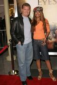 John edward yarbrough en traci bingham — Stockfoto