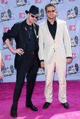 Frank Miller and Gerard Butler — Stock Photo