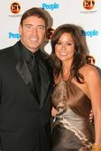 Garth Fisher and Brooke Burke — Stock Photo