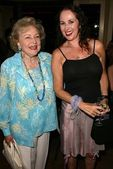 Betty White and Jenise Blanc — Stock Photo