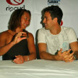 Layne Beachley and Mark Ruffalo - Stockfoto