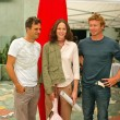 Mark Ruffalo, Jorja Fox and Simon Baker - Stockfoto