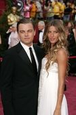 Leonardo Dicaprio and Gisele Bundchen — Stock Photo