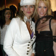 Постер, плакат: Natasha Henstridge and friend