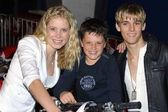 Alana Austin, Josh Hutcherson and Aaron Carter — Stock Photo