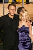 Heath Ledger and Naomi Watts — Stock Photo