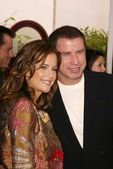 Kelly preston en john travolta — Stockfoto