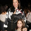 Mimi Rogers and daughter Lucy — Stock Photo