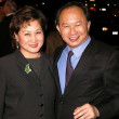 John Woo and wife — Stockfoto