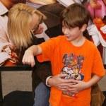 ������, ������: Lisa Kudrow and son