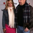 Christine Baumgartner and Kevin Costner — Foto Stock