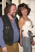 Mark Boone and Vanessa Parise — Stock Photo