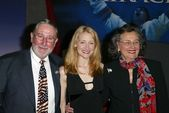 Patricia Clarkson and parents — Stock Photo