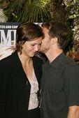 Maggie Gyllenhaal and Peter Sarsgaard — Stock Photo