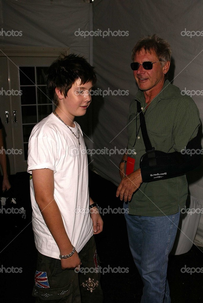 Malcolm Ford with dad Harrison Ford – Stock Editorial Photo © s_bukley #17480481