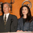 Mark Harmon and Andie MacDowell — Stock Photo