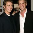 Hayden Christensen and brother Tove Christensen — Stock Photo
