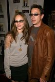 Robert Downey Jr. and Susan Levin — Stock Photo