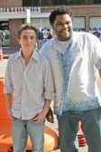 弗兰基穆尼斯和安东尼 · 安德森 — 图库照片