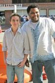 Frankie muniz und anthony anderson — Stockfoto
