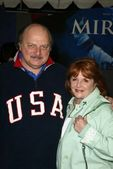 Dennis Franz and wife — Stock Photo