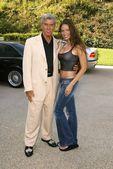 Michael Buffer and Ashley Degenford — Stock Photo