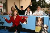 Linda Blair, Bonnie-Jill Laflin, David Shark Fralick, Vanessa Lengies and Dana Daurey — Stock Photo