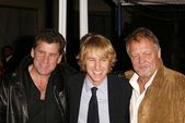 Paul Michael Glaser, Owen Wilson and David Soul — Stock Photo