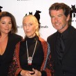 Постер, плакат: Keely Shaye Smith Jane Goodall and Pierce Brosnan