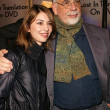 Sofia Coppola and Francis Ford Coppola — Stock Photo