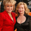 Barbara Eden and Kathleen Fugate — Stock fotografie