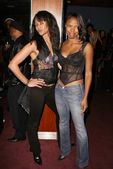 Persia White and Jill Jones — Stock Photo