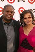 Forest Whitaker and wife Keisha — Stock Photo