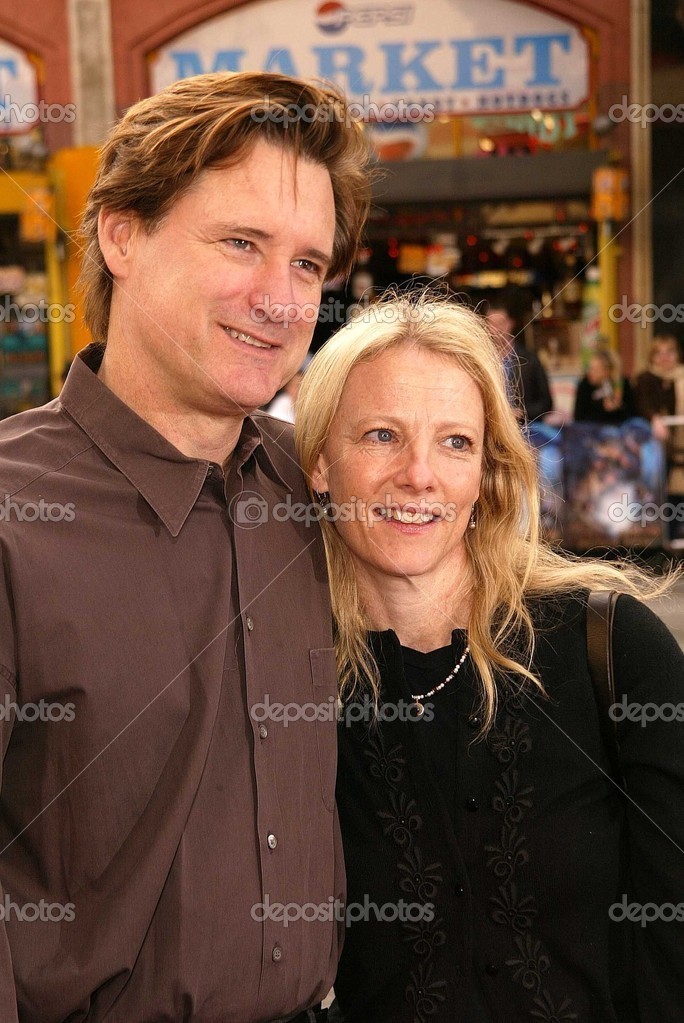 Bill Pullman and wife ...