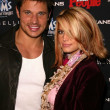 Nick Lachey and Jessica Simpson - Foto Stock