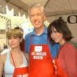 Alyssa Milano, Gray Davis and Jennifer Love Hewitt - Foto Stock