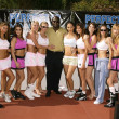 Постер, плакат: James Toney and Perfect 10 Model Boxers