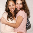 Christel Khalil and Lyndsy Fonseca — Stock Photo #17518009