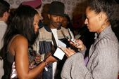 Golden Brooks, Jamie Foxx and Tracee Ellis Ross — Stock Photo