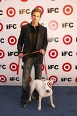 Hayden Christensen and Buddy — Stock Photo